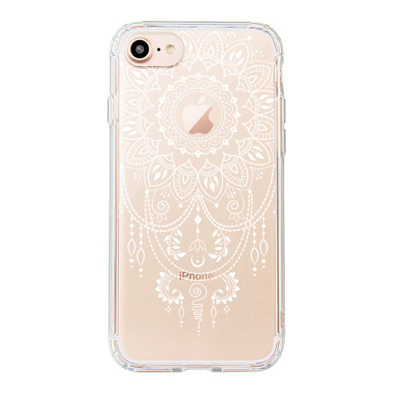 Mandala Henna Tattoo Phone Case - iPhone 8 Case