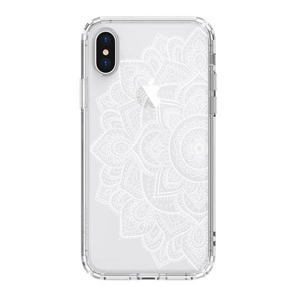 Half Mandala Phone Case - iPhone X Case