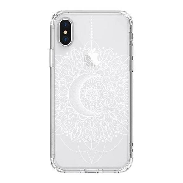 Moon Henna Phone Case - iPhone X Case
