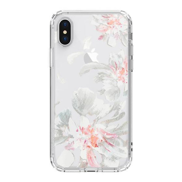 White Petal Phone Case - iPhone X Case