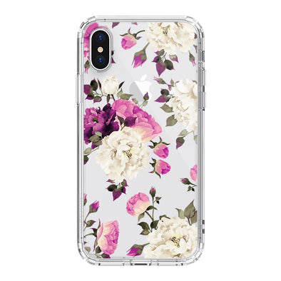 Floral Phone Case - iPhone X Case