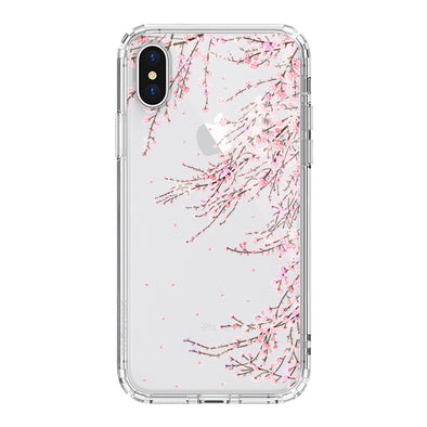 Cherry Blossoms Phone Case - iPhone X Case