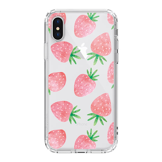 Strawberry Phone Case - iPhone X Case