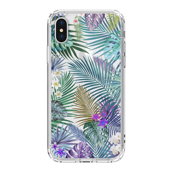 Tropical Forests Phone Case - iPhone XS Case