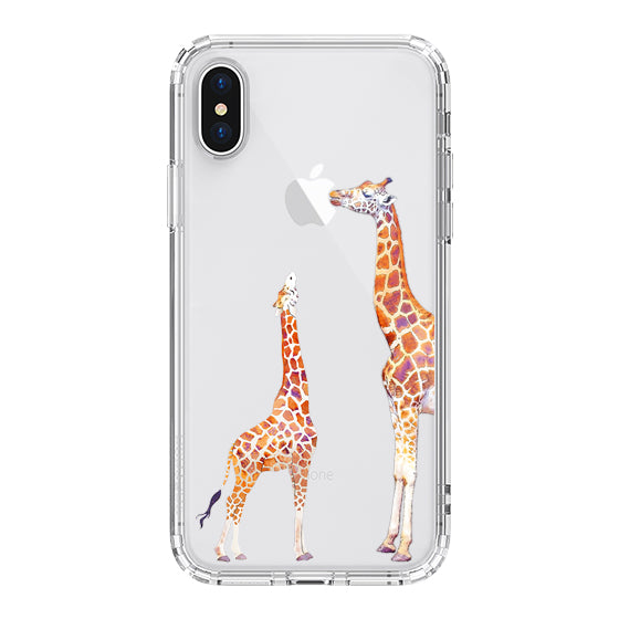 Giraffe Phone Case - iPhone X Case