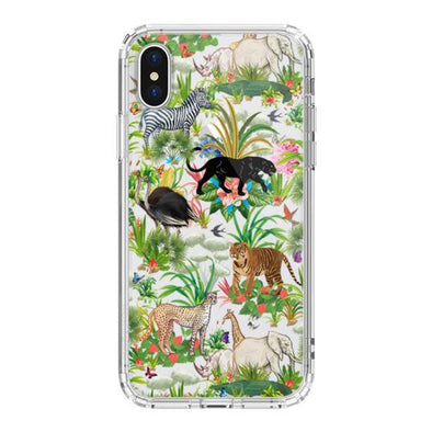 Wild Animals Phone Case - iPhone X Case