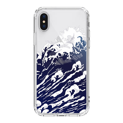 Sea Wave Phone Case - iPhone XS Case