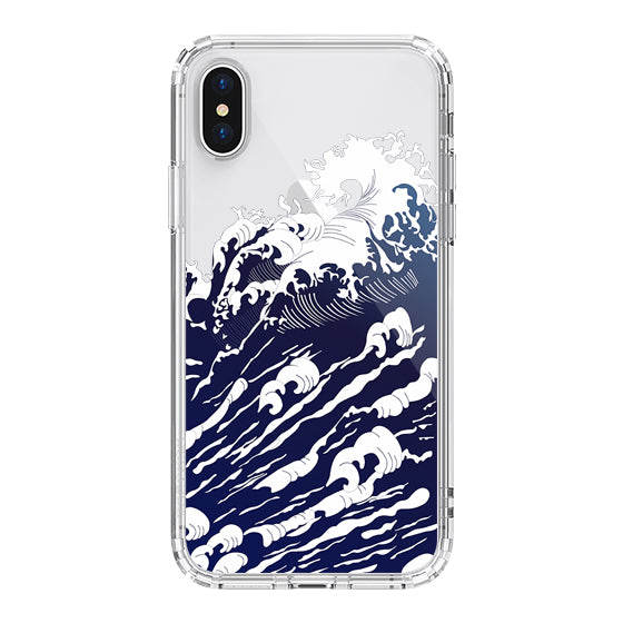 Sea Wave Phone Case - iPhone X Case