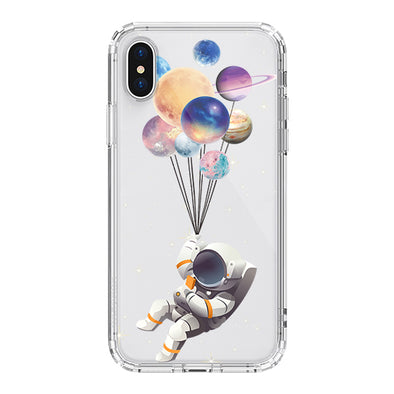 Astronaut Planet Phone Case - iPhone XS Case