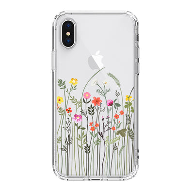 Tiny Wildflower Phone Case - iPhone XS Case