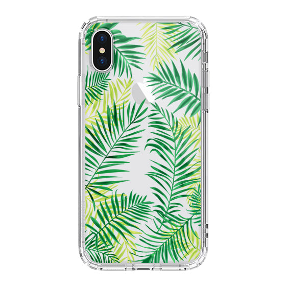 Palm Leaves Phone Case - iPhone X Case