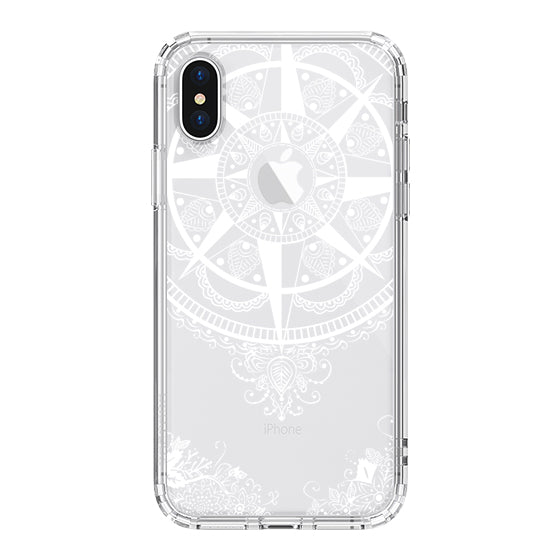 Mandala Floral Phone Case - iPhone XS Case