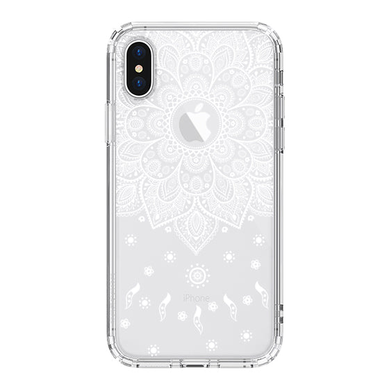 Peace Mandala Phone Case - iPhone X Case