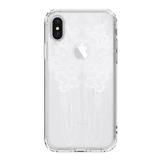 Lace Rose Phone Case - iPhone XS Case