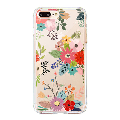 Water Color Flower Floral Phone Case - iPhone 8 Plus Case