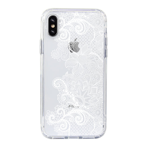 Floral Lace Phone Case - iPhone X Case