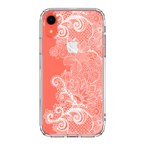 Floral Lace Phone Case - iPhone XR Case