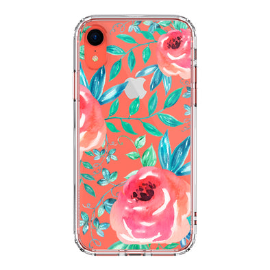 Roses Leaf Phone Case - iPhone XR Case