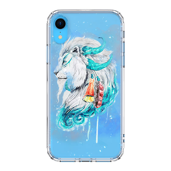 Lion Flames Phone Case - iPhone XR Case