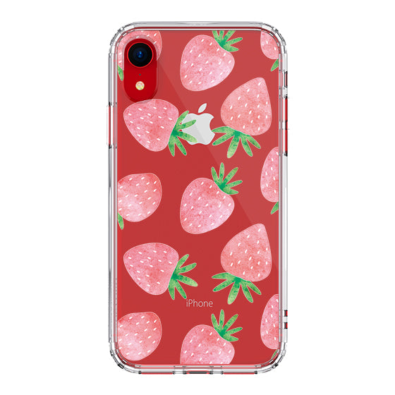 Strawberry Phone Case - iPhone XR Case