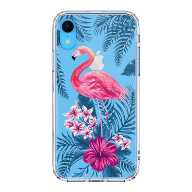 Tropical Flamingo Phone Case - iPhone XR Case