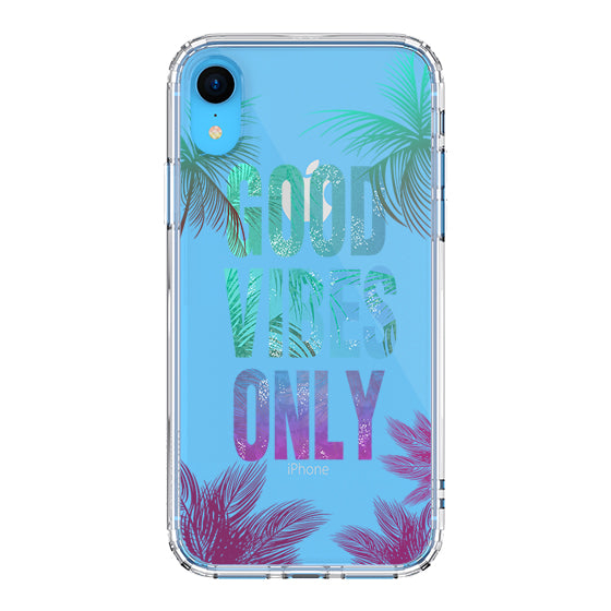 Good Vibes Only Phone Case - iPhone XR Case