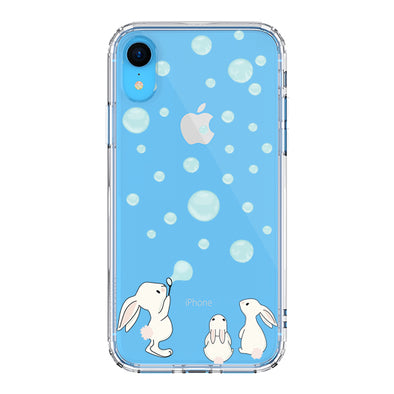 Cute Bunny Phone Case - iPhone XR Case