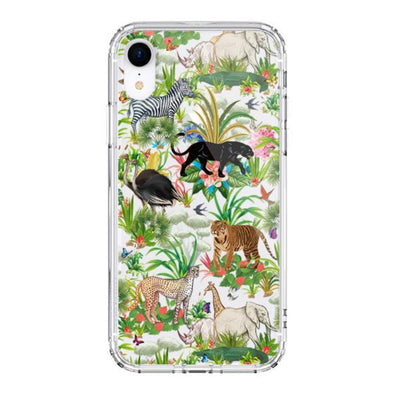Wild Animals Phone Case - iPhone XR Case