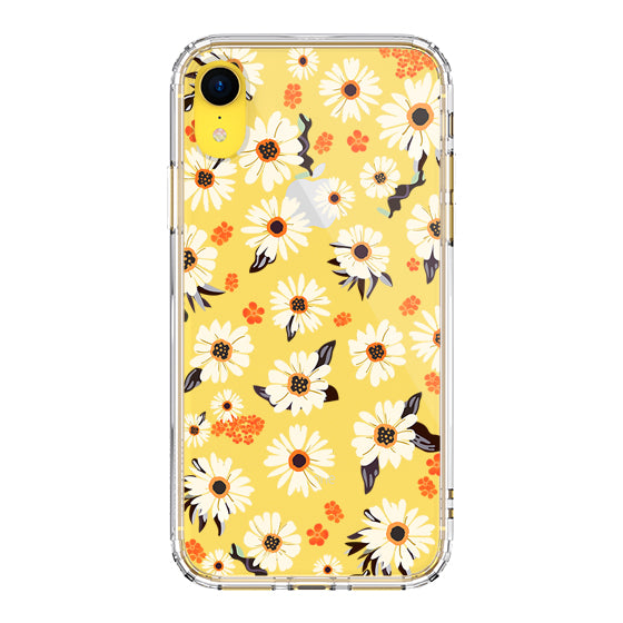 Daisy Floral Phone Case - iPhone XR Case