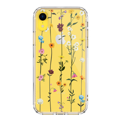 Wild Flowers Floral Phone Case - iPhone XR Case