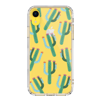 Cute Cactus Phone Case - iPhone XR Case