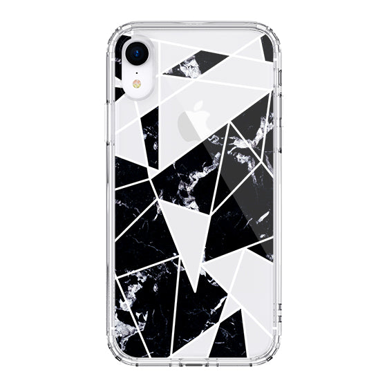 Black Marble Phone Case - iPhone XR Case
