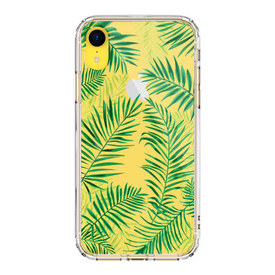 Palm Leaves Phone Case - iPhone XR Case