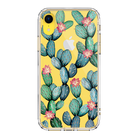 Tropical Cactus Phone Case - iPhone XR Case