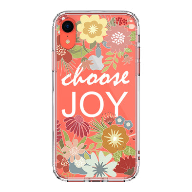 Choose Joy Phone Case - iPhone XR Case