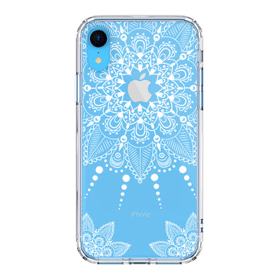 White Henna Garden Phone Case - iPhone XR Case