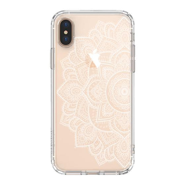 Half Mandala Phone Case - iPhone Xs Max Case