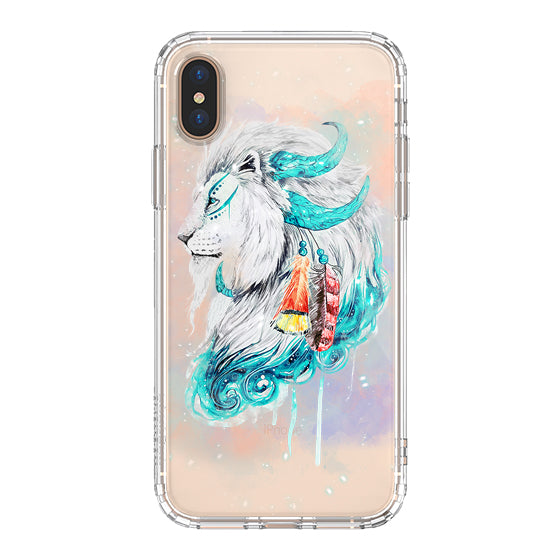 Lion Flames Phone Case - iPhone Xs Max Case