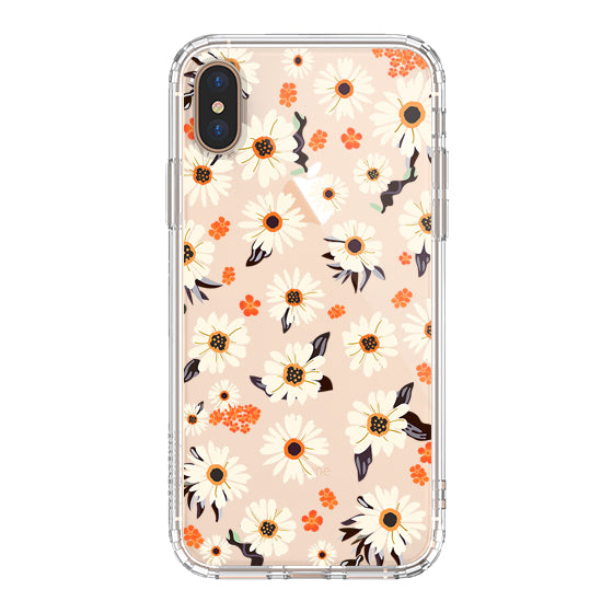Daisy Floral Phone Case - iPhone Xs Max Case