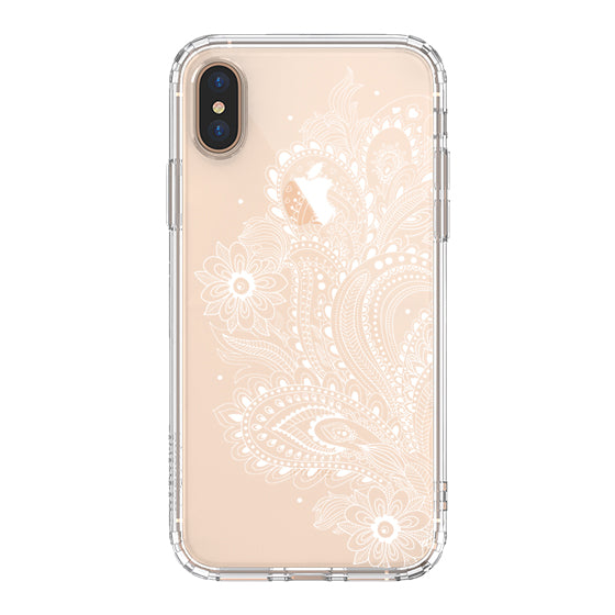 Paisley Floral Phone Case - iPhone Xs Max Case