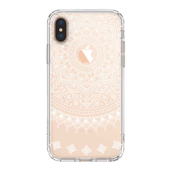 Mandala Henna Phone Case - iPhone Xs Max Case