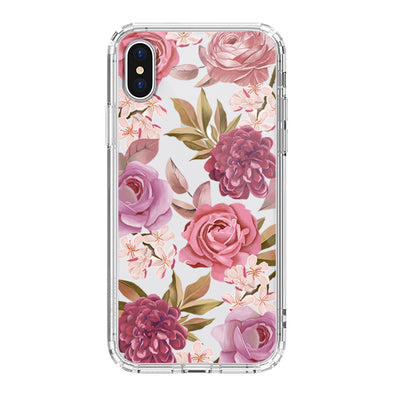 Blossom Flower Floral Phone Case - iPhone XS Case