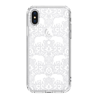White Elephant Phone Case - iPhone X Case