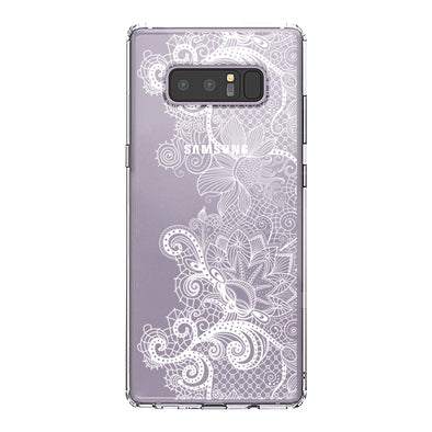 Floral Lace Phone Case - Samsung Galaxy Note 8 Case