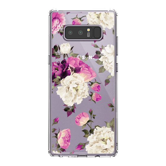 Floral Phone Case - Samsung Galaxy Note 8 Case