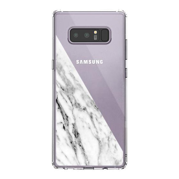 Fashion White Marble Phone Case - Samsung Galaxy Note 8 Case