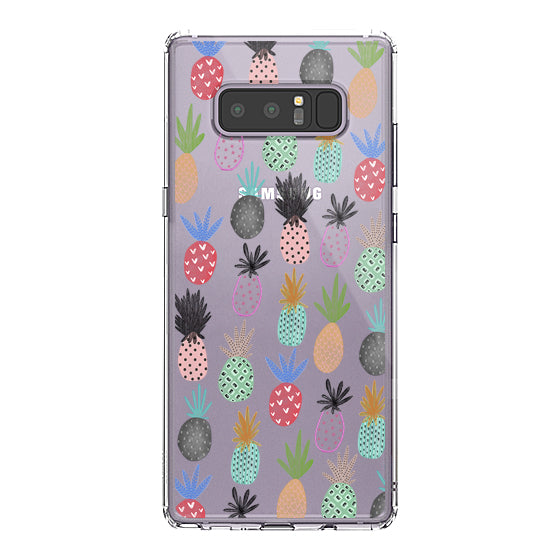 Cute Pineapple Phone Case -Samsung Galaxy Note 8 Case