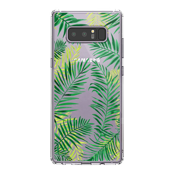 Palm Leaves Phone Case - Samsung Galaxy Note 8 Case