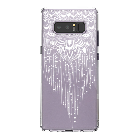 Floral Tassel Phone Case - Samsung Galaxy Note 8 Case