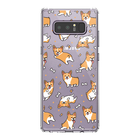 Corgi Phone Case - Samsung Galaxy Note 8 Case